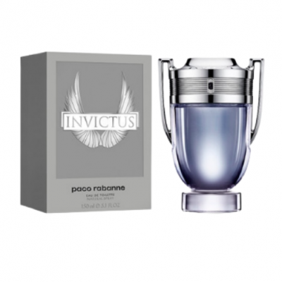 Paco Rabanne Invictus Eau de Toilette 100ml Spray - Laurelled
