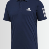 Adidas Originals Men's 3-Stripe Club Short Sleeve Polo - Laurelled