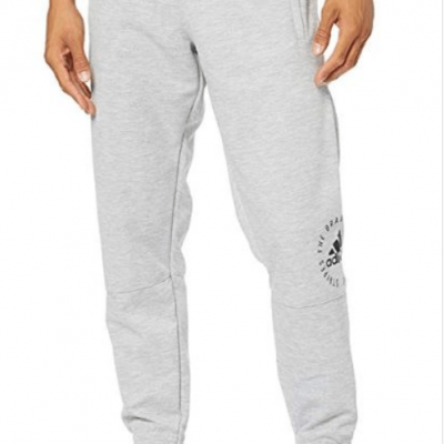 ADIDAS SPORT ID FLEECE BOTTOMS MENS - Laurelled