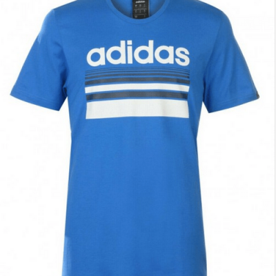 ADIDAS HORIZON LINEAR T-SHIRT MENS - Laurelled