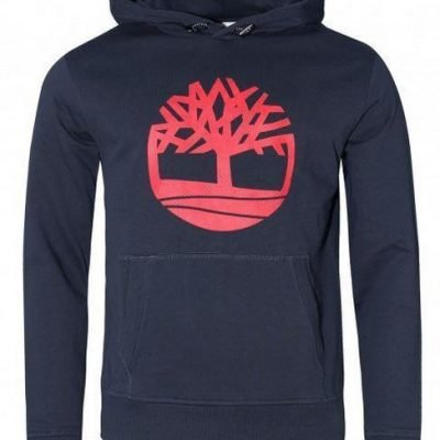 TIMBERLAND OVERHEAD CLASSIC LOGO HOODIE - Laurelled